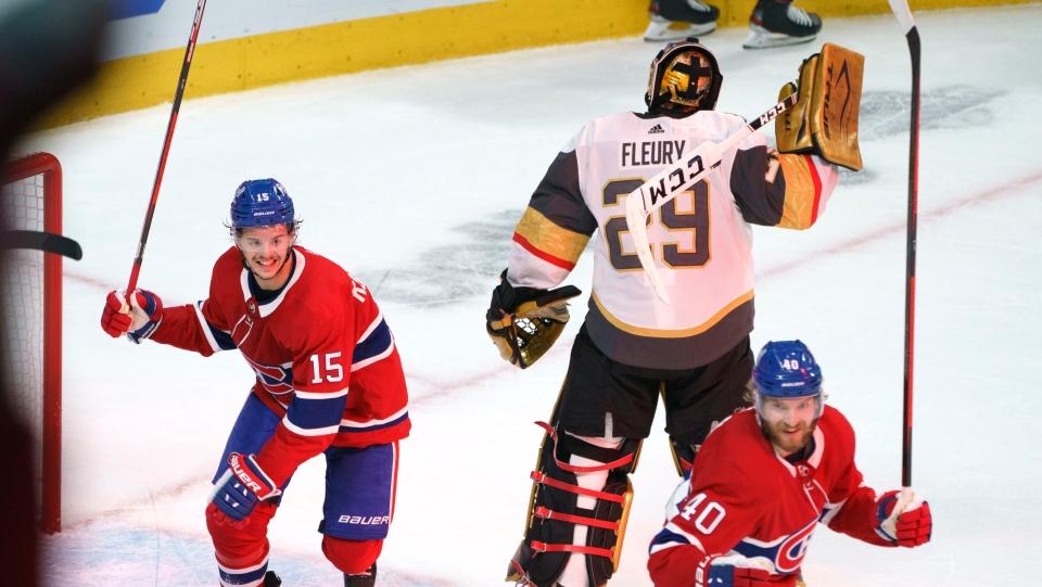 Fleury error leads to game-tying goal