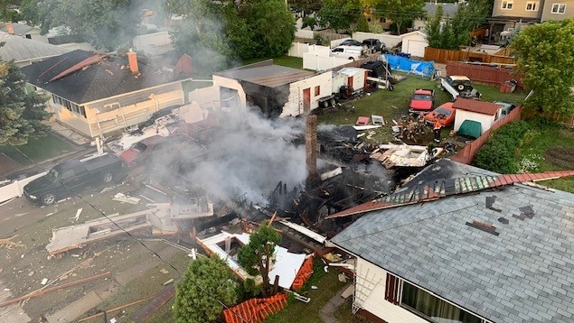 Saskatoon house explosion
