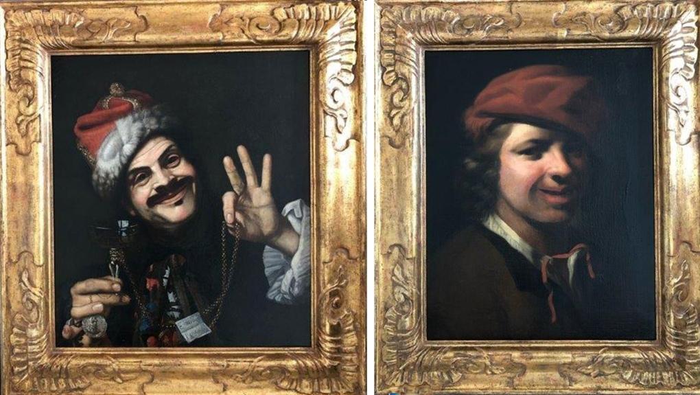 17th century paintings found
