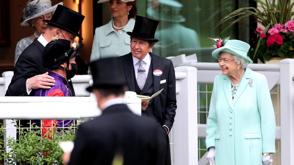 Queen Elizabeth II at Ascot