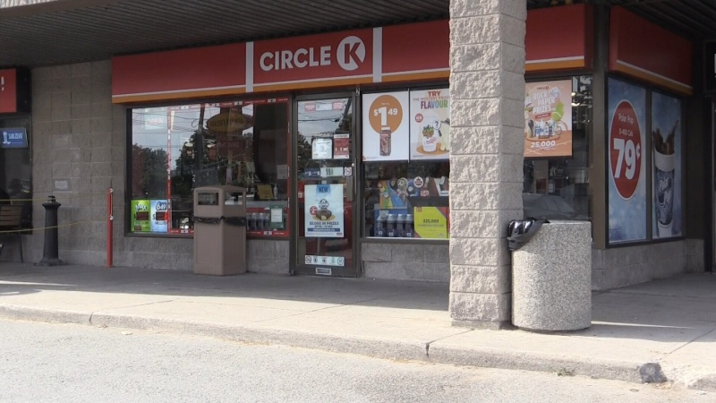 Robbery at Barrie Circle K