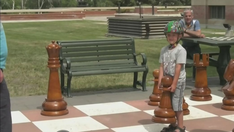 Game of chess grows big in Medicine Hat