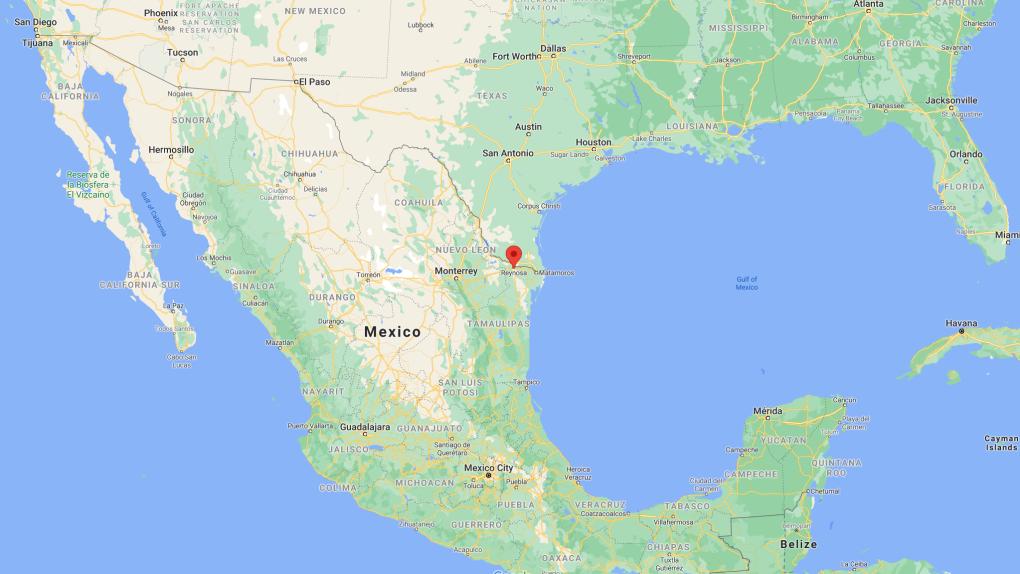 Reynosa map