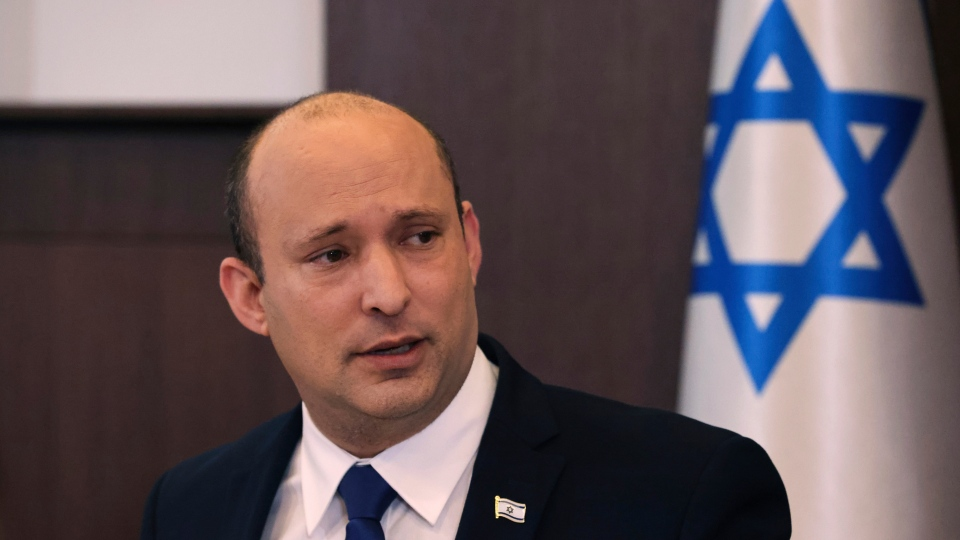 Naftali Bennett cabinet meeting