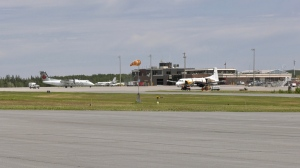 The rehabilitation and resurfacing of the runways and taxiways at the Timmins Victor M Power Airport cost 9.5 million dollars. Officials are now hoping to attract new developments at the facility. June 20/21 (Lydia Chubak/CTV News Northern Ontario)