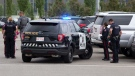 A woman was injured during a police incident that unfolded at the Calgary Zoo's parking lot on June 19, 2021. (Postmedia/Gavin Young)