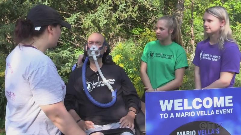 Virtual walk for ALS