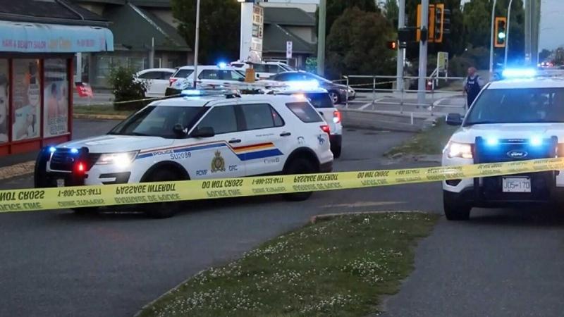 Shots fired between vehicles in Surrey
