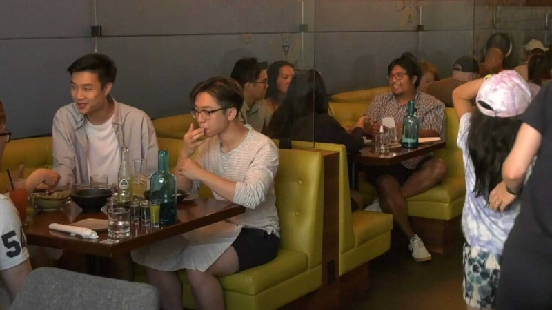 Restaurants bustling this Father's Day