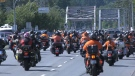 Motorcycle rally for residential school survivors