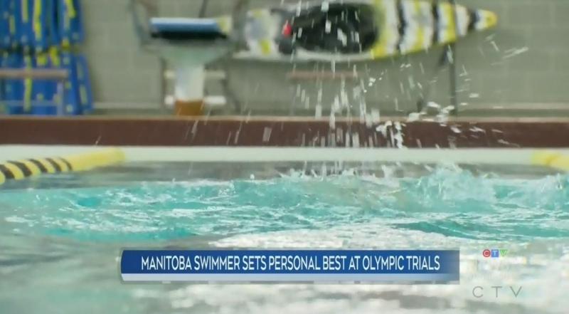 Manitoba swimmer may be Olympics-bound