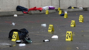Police are investigating a shooting that left one dead and four injured in Anchorage Saturday. (Bill Roth/AP)
