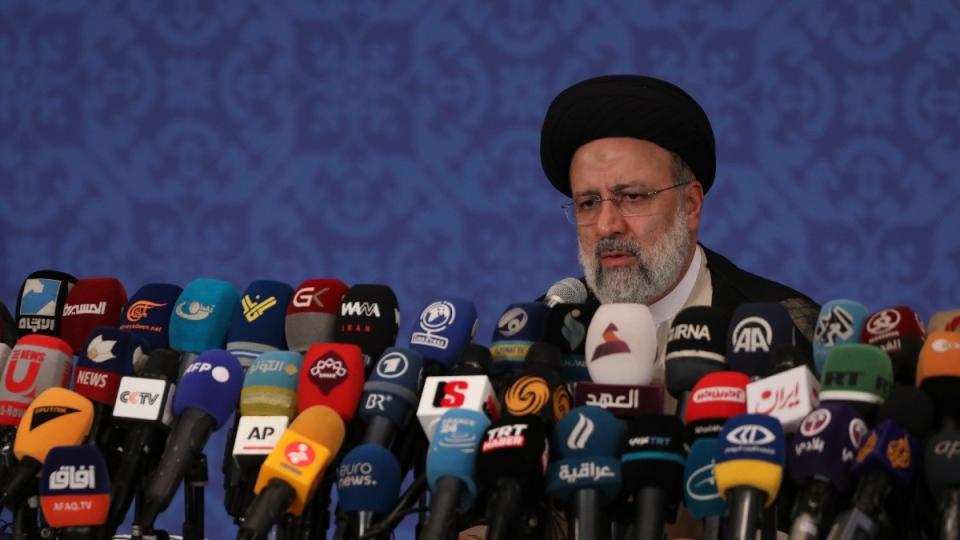 Iran president-elect Ebrahim Raisi