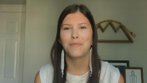 first Indigenous valedictorian