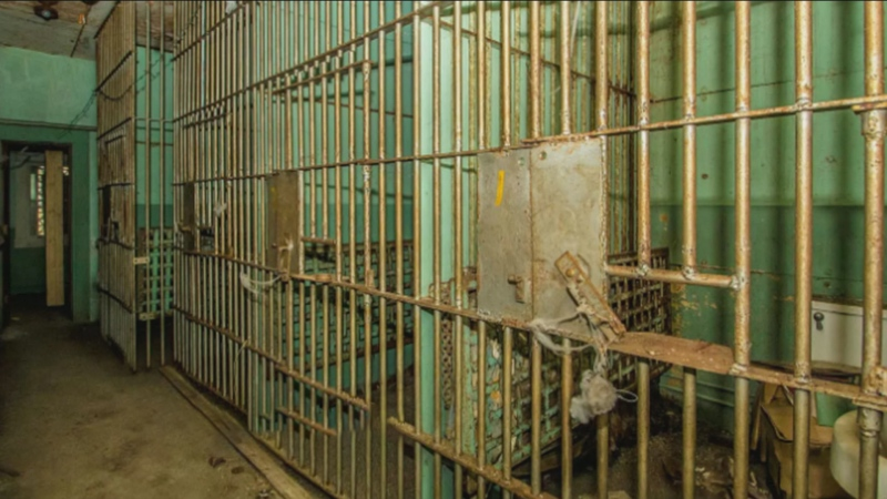 Home for sale features creepy old prison in the ba