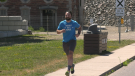 Jonathan Mogg of Sault Ste. Marie, Ont. is an avid runner who has run every street in the city. June 20/21 (Mike McDonald/CTV Northern Ontario)