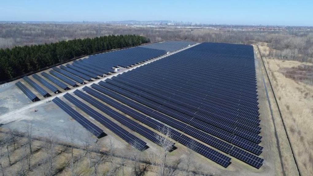 Hydro-Quebec unveils solar power plants
