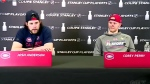 Montreal Canadiens Josh Anderson and Corey Perry