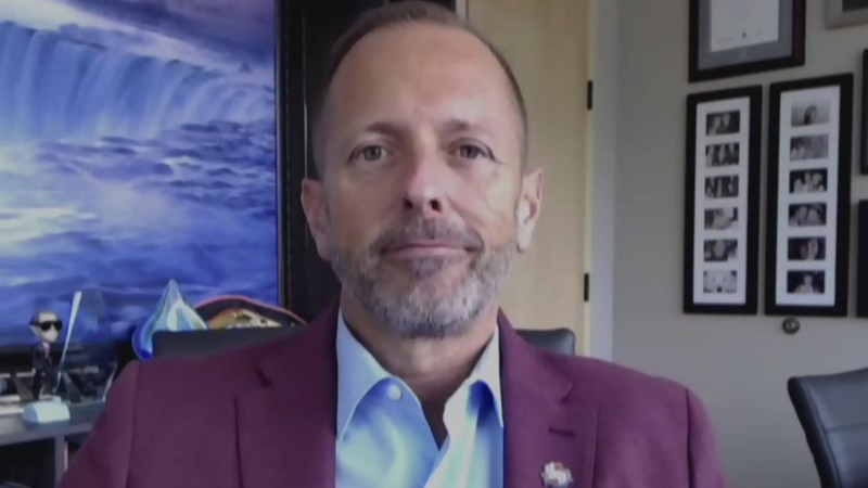 Niagara Falls Mayor Jim Diodati