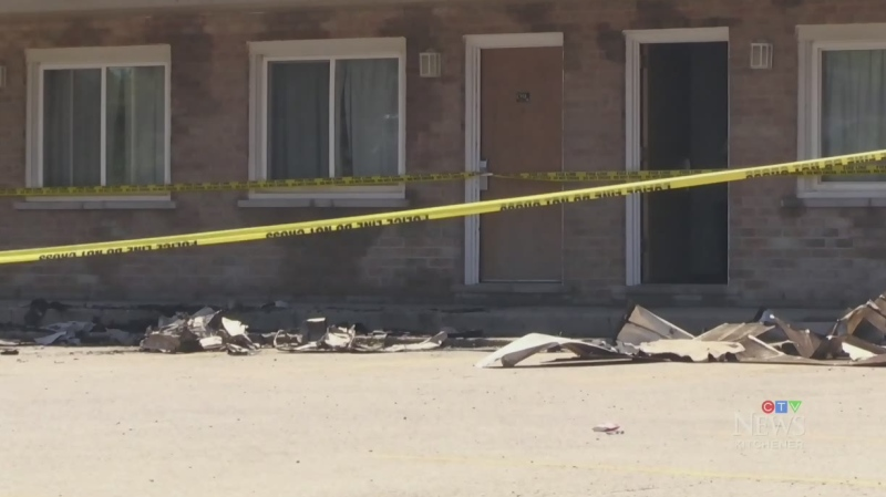 Arson charge in Guelph Super 8 fire