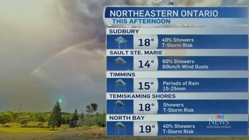 Wet weather to start northeastern work week