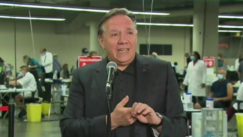 After Quebec Premier Francois Legault