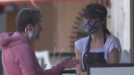 Masks remain in Calgary after reopening
