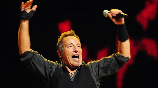 Bruce Springsteen performs with The E Street Band at Time Warner Cable Arena in Charlotte, N.C., on Nov. 3, 2009. (AP / The Charlotte Observer, Jeff Siner)