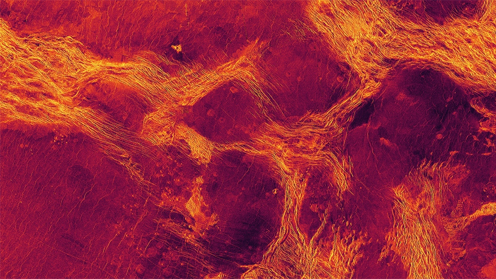 Venus geologic activity