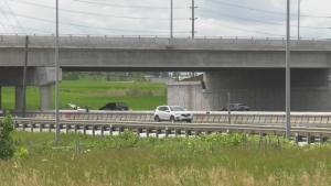 Harvie Road overpass