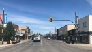 Saskatoon's Riversdale business district is shown in this June 21, 2021 photo. (Chad Leroux/CTV News)