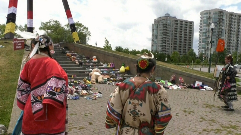 Indigenous Peoples Day ceremony