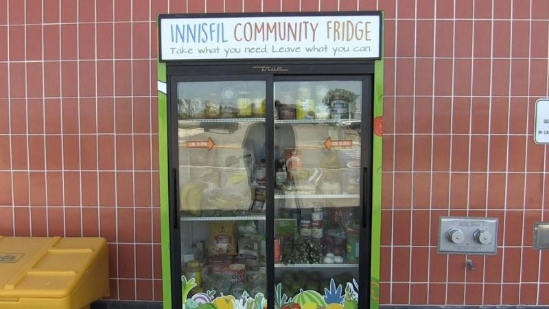 Innisfil community fridge program