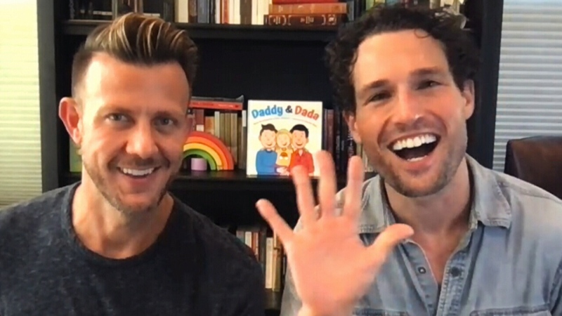 'Daddy and Dada': Book celebrates all families