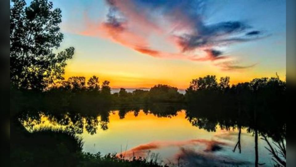 Windsor Sunset (Courtesy: Lira Sykja Okaj)