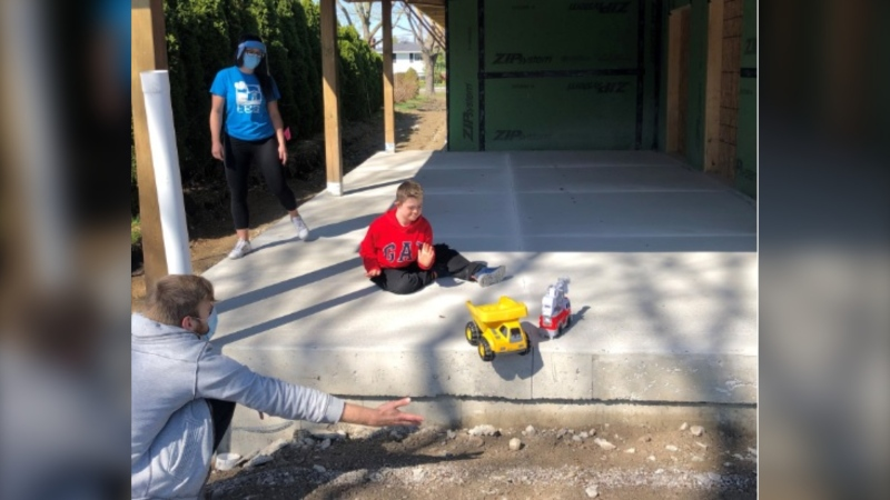 Construction underway on new respite home (Courtesy: Family Respite Services Windsor Essex)