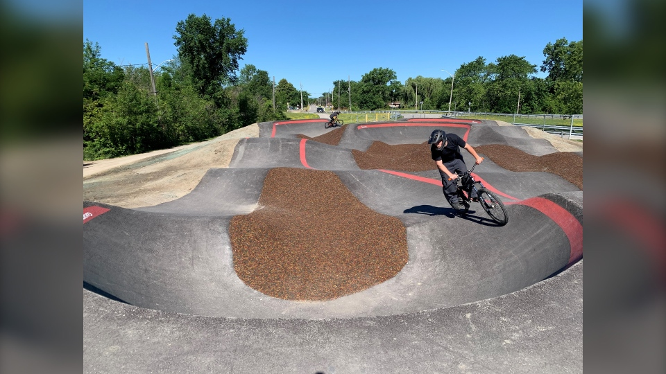 Little River Corridor bicycle pump track