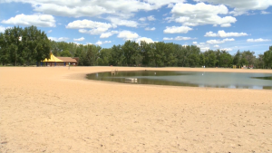 The Sikome Aquatic Facility, commonly known as Sikome Lake, in Fish Creek Provincial Park will not open to the public this summer. (file)