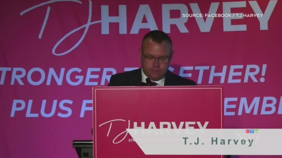T.J. Harvey to run for N.B. Liberal leadership