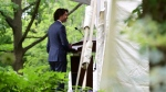 Prime Minister Justin Trudeau holds a press conference at Rideau Cottage in Ottawa on Tuesday, June 22, 2021. THE CANADIAN PRESS/Sean Kilpatrick
