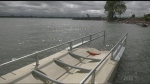 New accessible canoe and kayak dock in the Soo. June 21/21 (Christian D'Avino/CTV Northern Ontario)