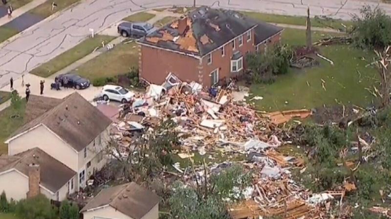 Quebec tornado