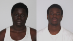 Leslie Fosu, 19, and Jeremy Kahilu, 21, are wanted in connection with shootings in a restaurant parking lot in Laval. SOURCE: SPL