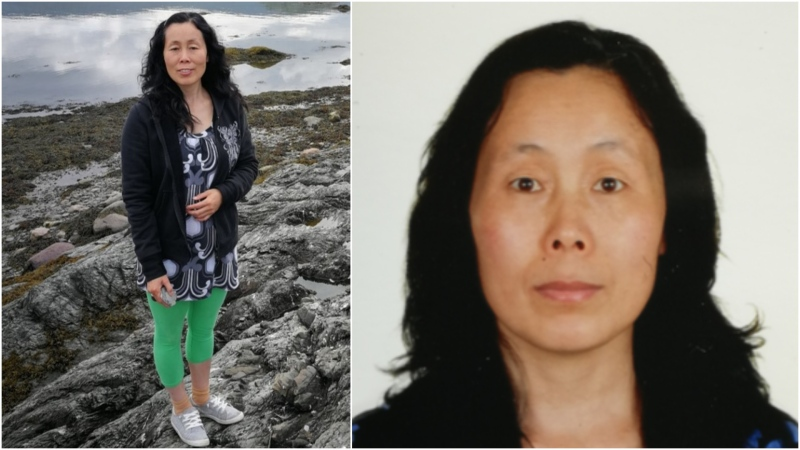 Wenyan Lan is shown in undated images provided by her family.