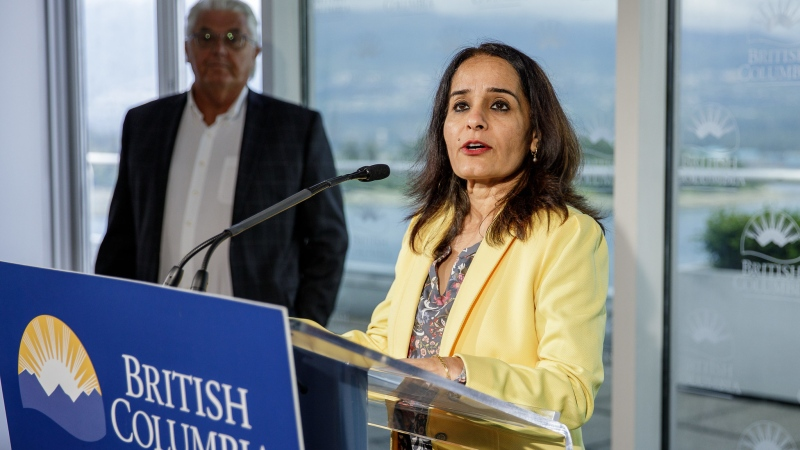Rachna Singh, B.C.'s Parliamentary Secretary for Anti-Racism Initiatives, is shown: June 4, 2020 (Province of B.C. / Flickr)