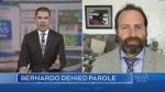 Paul Bernardo denied parole