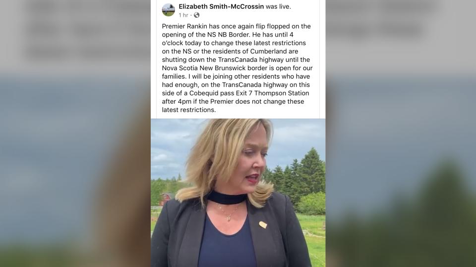 Elizabeth Smith-McCrossin post