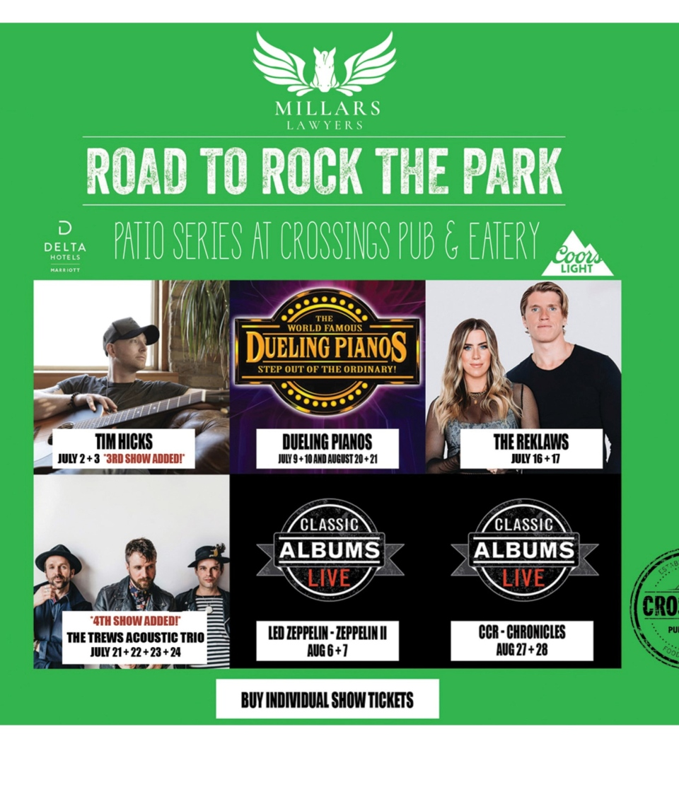 Road to Rock the Park