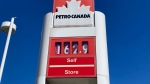 A gas station in Saanich is shown: June 22, 2021 (CTV News)