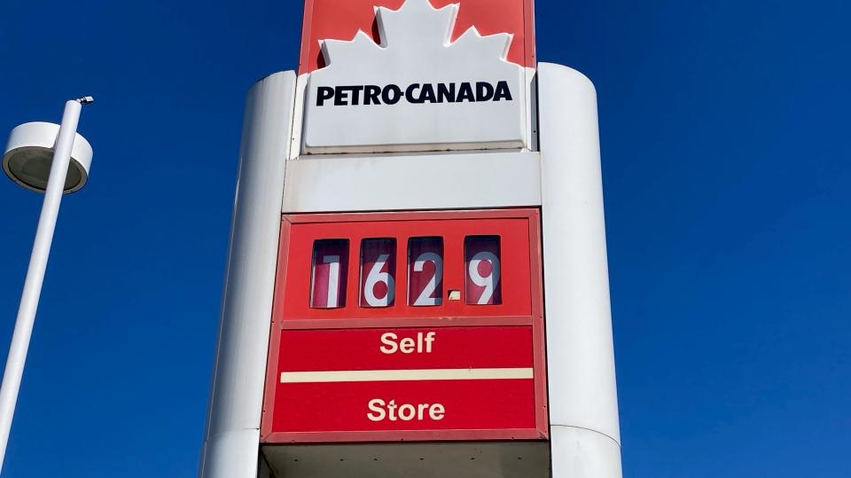 gas station petro canada